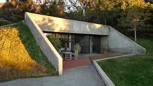 berm house earth sheltered homes outlined mountainside or hillside