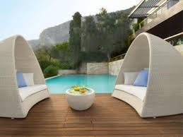 Outdoor Lounge Chairs For Sale Design Ideas Daybeds Awesome Rattan Wicker Double Lounger Sunbed Day Black
