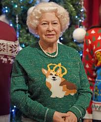 this photo royal family in ugly christmas sweaters is