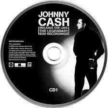 cd album johnny walking the line the legendary sun