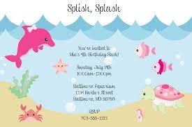 under the sea birthday invitations wording drevio invitations design