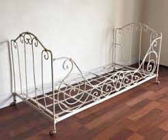 Wrought Iron Daybed Original Antique Wrought Iron Day Bed Tm187