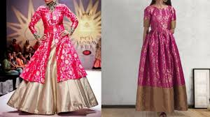 top brocade indian dress designs indo western brocade dresses
