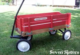 Radio Flyer Wagons Used How To Tell Age Seven Sisters Lots Of Love For My Radio Flyer Wagon