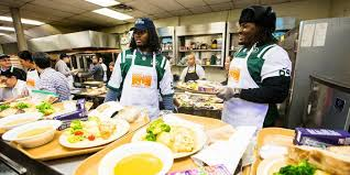 jets team up with food bank of nyc