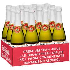sparkling cider bulk martinelli s gold medal 8 4 oz sparkling cider 100 juice 6 ct