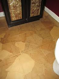 guest bathroom paper bag floors hometalk