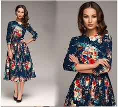2016 new arrival women u0027s casual slim dresses printing girls