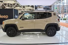 gray jeep renegade jeep renegade desert hawk left side at 2016 bologna motor show