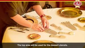 Formal Dinner Place Setting The In U0027s And Out U0027s Of Table Settings Al Alali Luxury Dinner