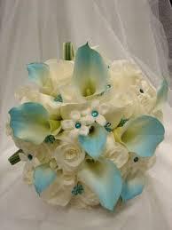 Tiffany Blue Flowers Tiffany Blue Wedding Flowers Bridal Bouquet For Tiffany Blue