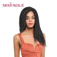 16 inch hair extensions miss rola lock crochet braid hair 1b curly synthetic hair