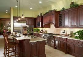 Modern Kitchen For Cheap Cherry Wood Cabinets Kitchen Suarezluna Com