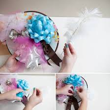 How To Make A Bridal Bouquet How To Make A Bridal Shower Bow Bouquet Easy Steps