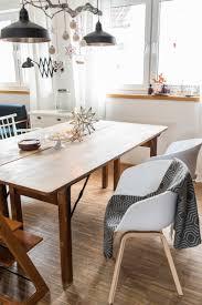 Wohnzimmer Tisch Deko Weihnachtsdeko über Dem Esstisch Leelah Loves
