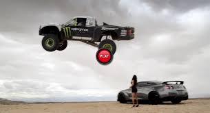 watch 850 hp trophy truck rip mojave desert 150