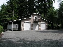 Garage Loft Plans Three Car Garage With Living Quarters Above Definitely Enough