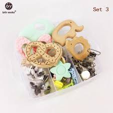 wooden teether safe infant toy waldorf toddler toys baby shower