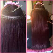 microbead extensions hello hair micro bead extensions 92 photos 41 reviews hair