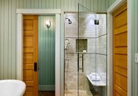 25 Shower Door Bathrooms Sparkling Shower With Glass Door Steals The Show In