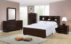 bedroom furniture sets beds mirrors desks dressers c200719qset 4 pieces jessica light cappuccino finish queen bedroom