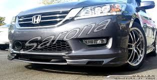 2013 honda accord custom honda accord sedan front add on lip 2013 2015 390 00 part