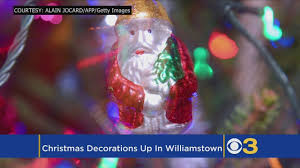 christmas lights in south jersey south jersey town hangs christmas decorations for halloween parade