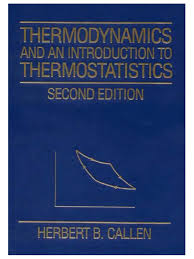 callen herbert b thermodynamics and an introduction to
