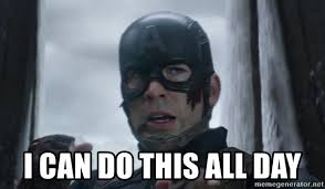 All Day Meme - i can do this all day captain america civil meme generator