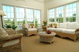interior entrancing sunroom interior decoration using round white