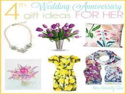 4th anniversary gift ideas 4th anniversary gift ideas 4th year wedding anniversary