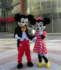 minnie and mickey mouse halloween costumes for adults cheap mickey u0026 minnie mouse mascot costumes for sale on balloonsale us