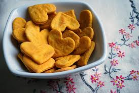 heart shaped crackers sweet potato crackers recipe easy healthy recipe for kids