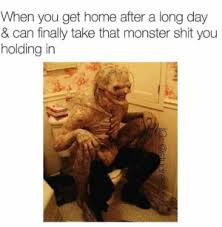 Hot Day Meme - when you get home after a long day and get into a hot tub but it