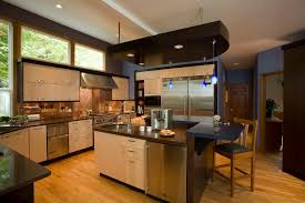 Copper Backsplash Kitchen Copper Backsplash Kitchen Mediterranean With Cove Lighting Glass