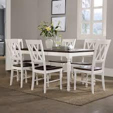 Crosley Furniture Outdoor Crosley Shelby 7 Piece Dining Table Set Hayneedle