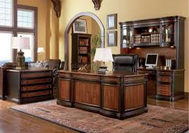 Classy And Wonderful Home Office Decoration With Elegant Wooden - Home office room design