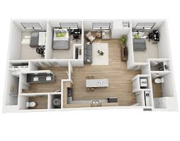 3 Bedroom Apartments Floor Plans Floor Plans Skyvue Apartments
