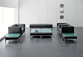 office modern office waiting room furniture design ideas black