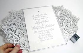 laser cut wedding programs laser cut wedding invitations weddings illustrated