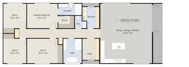 Blue Prints House by Cheap House Blueprints House Plans