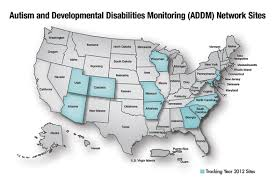 Utah Us Map by Cdc Addm Autism Spectrum Disorder Asd Ncbddd