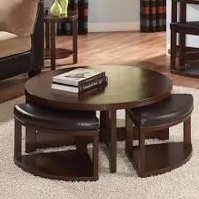 Coffee Table Ottoman With Storage by Coffee Table Fabulous Ottoman Coffee Table Tray Brown Leather
