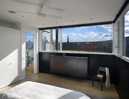 split level bedroom split level house in philadelphia by qb design