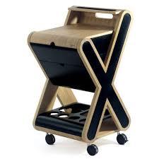 ustensile de cuisine design billot de boucher design stilio x noir bérard photo de les