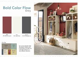 creating color flow in your home open floor house and house colors