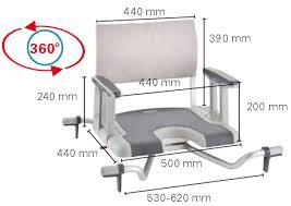 siege pivotant pour baignoire siège de bain pivotant sorrento invacare