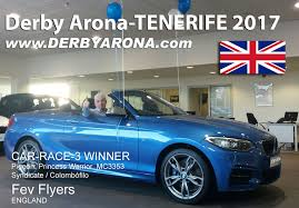 syndicate car semifinal race 230 km report derby arona