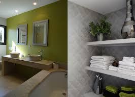 Salle De Bain Vert Et Marron by Stunning Salle De Bain Vert Anis Images Home Decorating Ideas