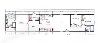3 Bedroom 2 Bath Floor Plan by 3 Bedroom Floor Plan K 109 Hawks Homes Manufactured U0026 Modular